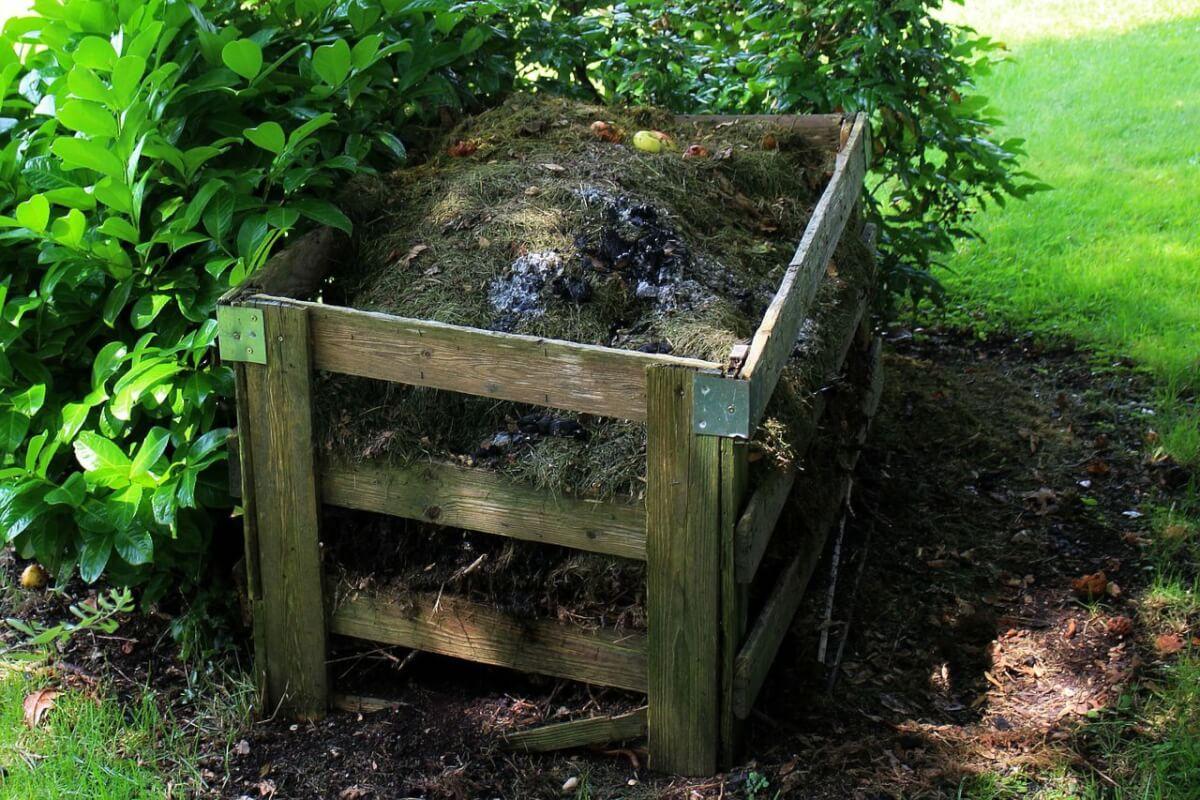 compost para jardin